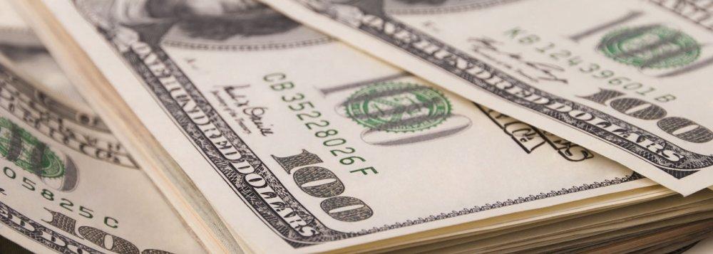 dolar queda